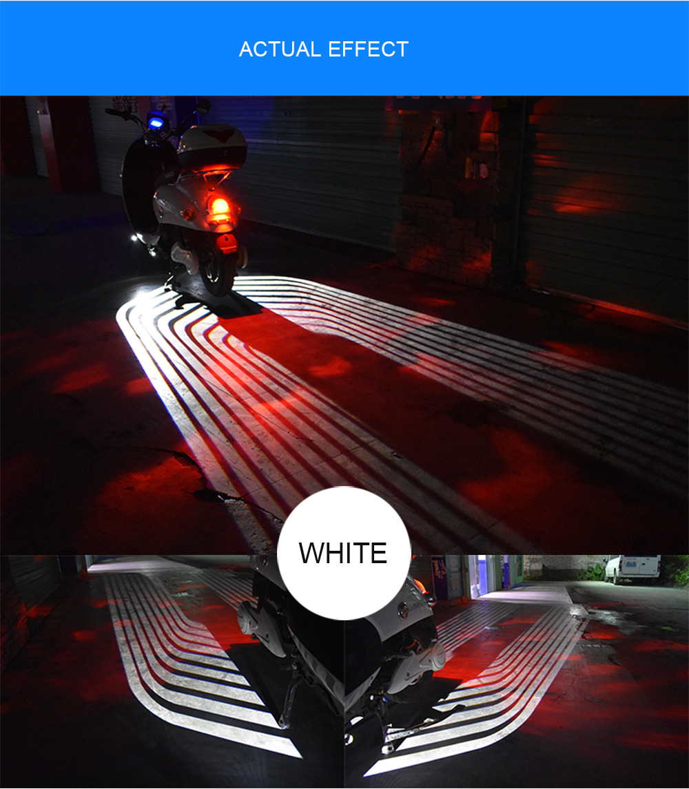 Motorcycle LED Decorative Lights Angel Wing Welcome Light Blanket Signal Warning Atmophere font b Lamp b