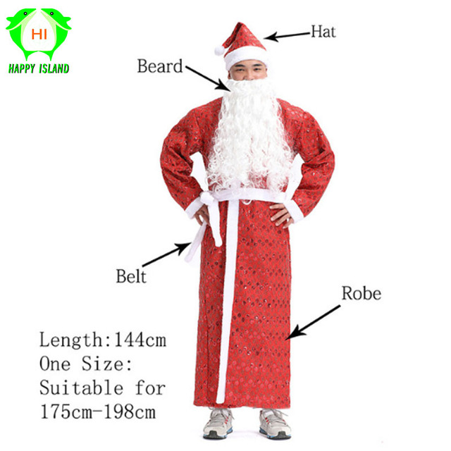 2b99b22714 Adult Christmas Costumes Women Santa Claus Costume Men Christmas Cosplay  Costume for New Year Festival Girls Party Costume Suits