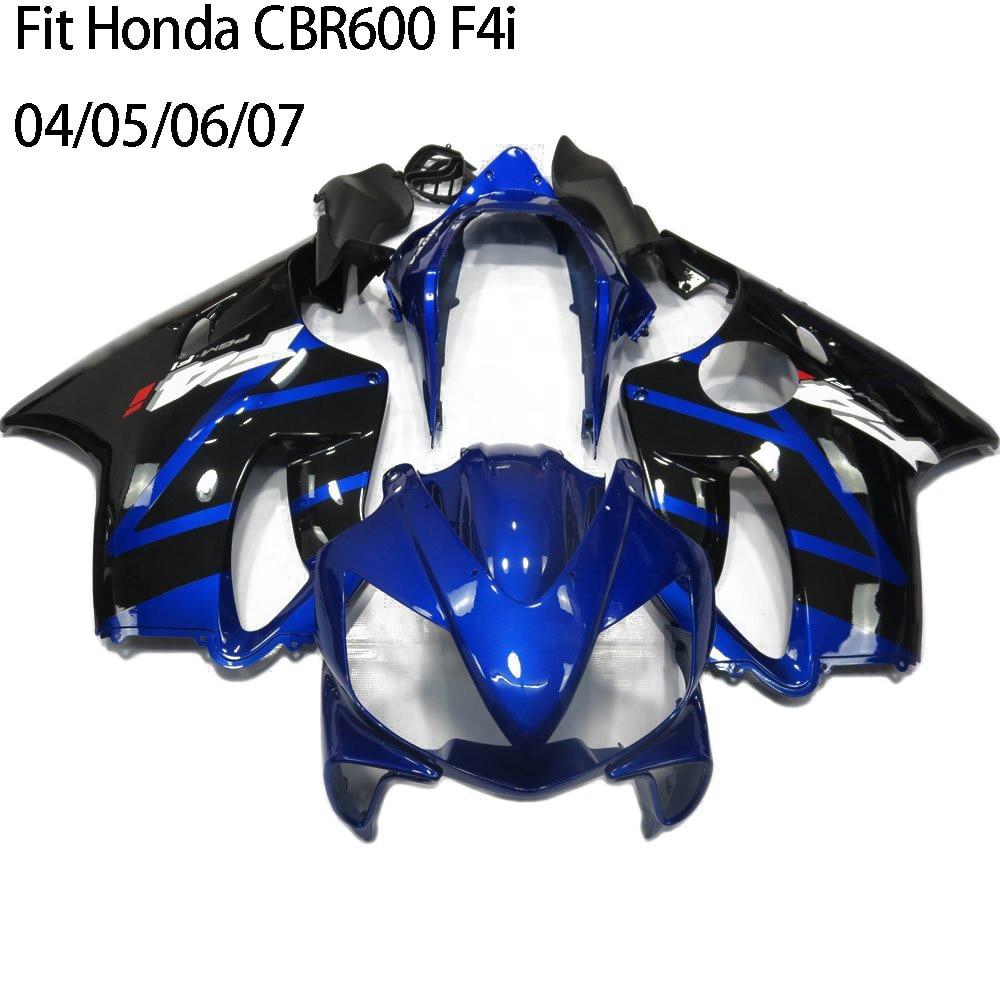 Cbr 600 F4i Abs Injection Molding Fairing Kit Fairings Uv Painted 2006 Honda For 2004 2005 2007 Cbr600 Cbr600f4i 600f4i In Covers Ornamental