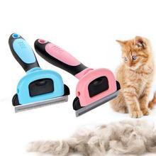 Гребни для удаления шерсти собаки щетка для ухода за кошкой инструменты для стрижки съемное приспособление для стрижки домашних животных Триммер гребни для кошек питание для домашних животных furmins TP