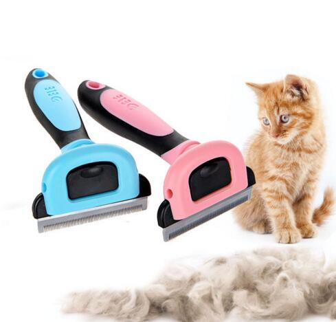Combs Dog Hair Remover Cat Brush Grooming Tools Detachable Clipper Attachment Pet Trimmer Combs for Cat Pet Supply furmins TP