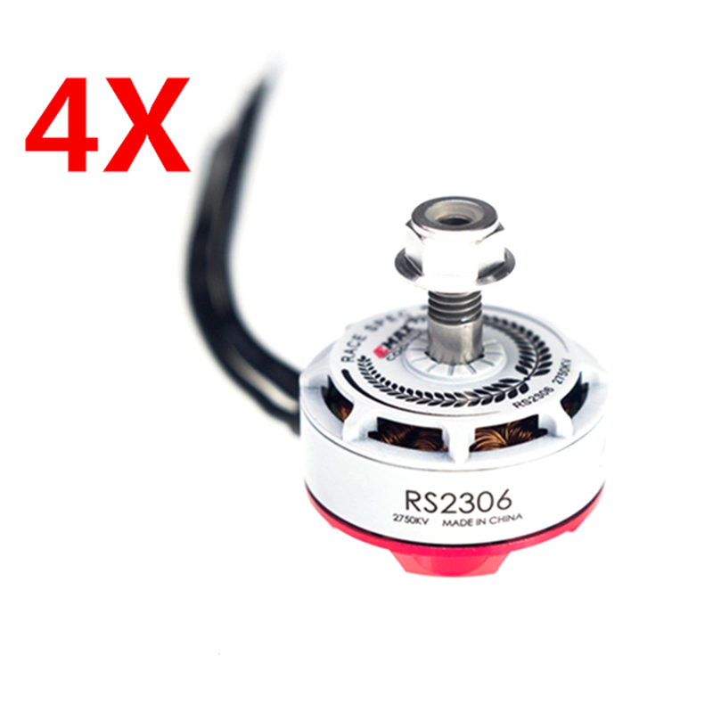 New Arrival 4X Emax RS2306 White Edition 2750KV 3-4S Racing Brushess Motor For FPV Racing Model Accessories Accs touchstone teacher s edition 4 with audio cd