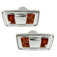 Side Marker Indicator fits CHEVROLET CRUZE 2009 2010 2011 2012 2013 2014 2015 / OPEL ASTRA 2004 2010 SET Turn Signal Light PAIR