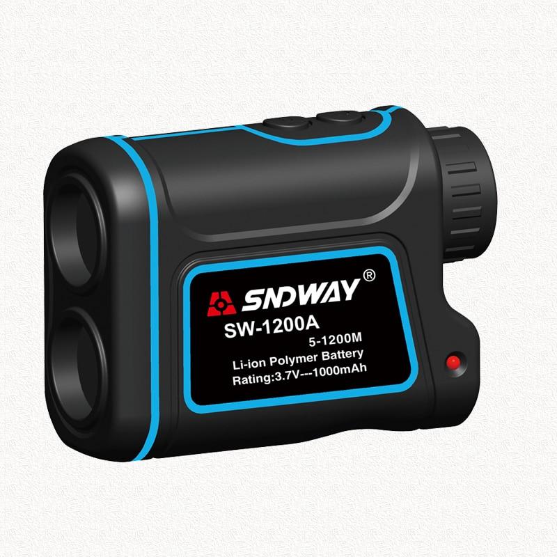 SNDWAY Telescope Laser Rangefinders Distance Meter Digital 8X 1200M Monocular Hunting Golf Laser Range Finder 1200m powerful 6x25mm long distance measure 1200m golf laser range finder