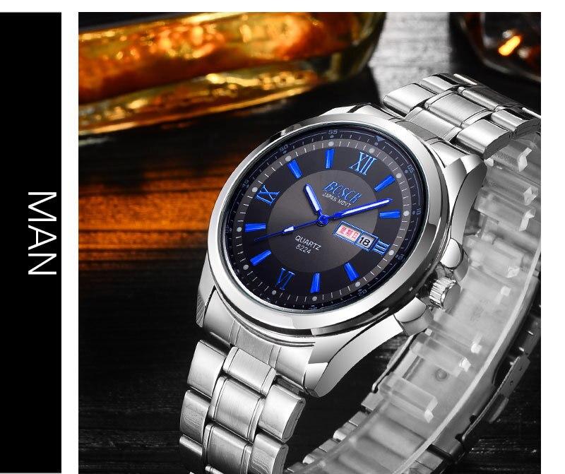 Sale Saat Clock Watches Women brand Fashion dress ladies Watches Leather Stainless women Steel Analog Luxury Wrist Watch