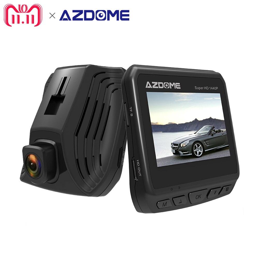 DAB211 Ambarella A12 1440x2560 P супер HD Автомобильный dvr камера видео регистраторы ночное видение дюймов ЖК дисплей экран регистраторы ADAS Azdome