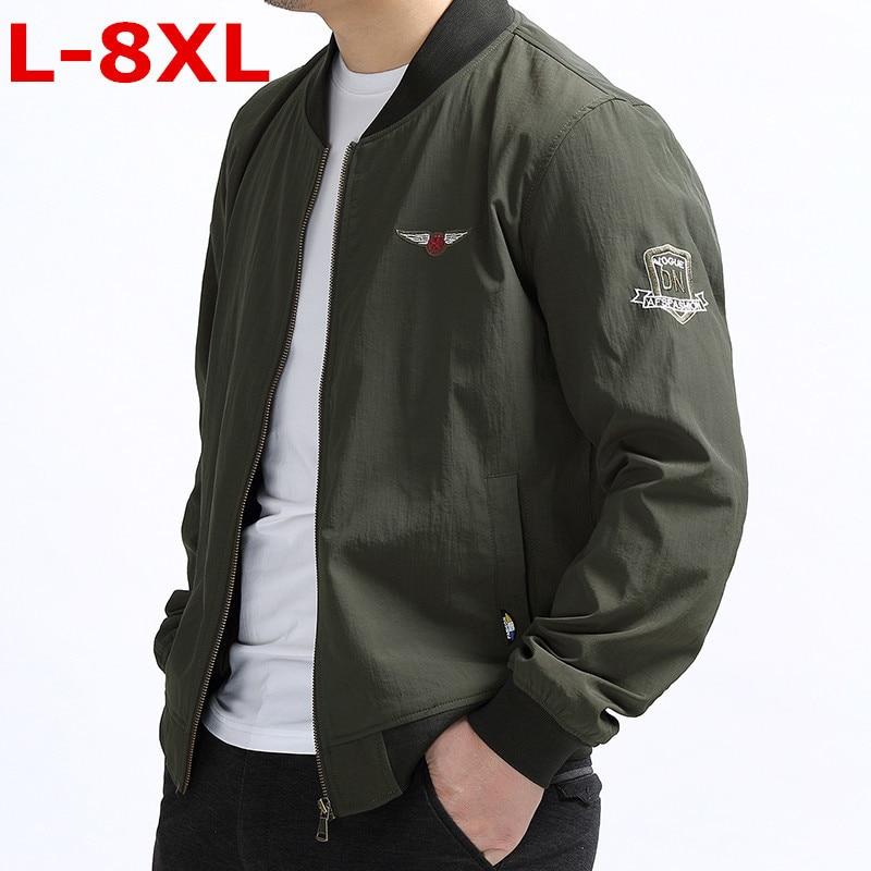 Casual Col 1 Male Manteau Taille Vestes 2018 La Support Pardessus De Plus Printemps 8xl Solide Manteaux 2 Hommes Mode Mince Veste 10xl 9xl n0wPZOkN8X