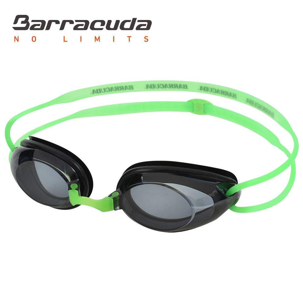 Barracuda Dr B Optical Swimming Goggles Hydrodynamic Profile Frame Silicone Seals Anti fog UV Protection for