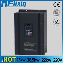 15kw/18.5kw/22kw 220v single phase input 380v 3 phase output AC Frequency Inverter AC drives /frequency converter 220vto380v NF