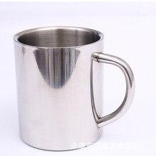 220ml 300ml 400ml Stainless Steel Portable Mug Cup Double Wall Travel Tumbler Coffee Mug Tea Cup particular handled skull design 400ml wine coffee tea cup