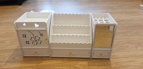 Cestos e caixas de armazenamento Plástico Armazenamento Cosméticos