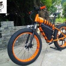 3abfe5f85ea Kalosse E-bike electric snow bike Hydraulic brakes M4000 27 speed 60V 1500W electric  beach