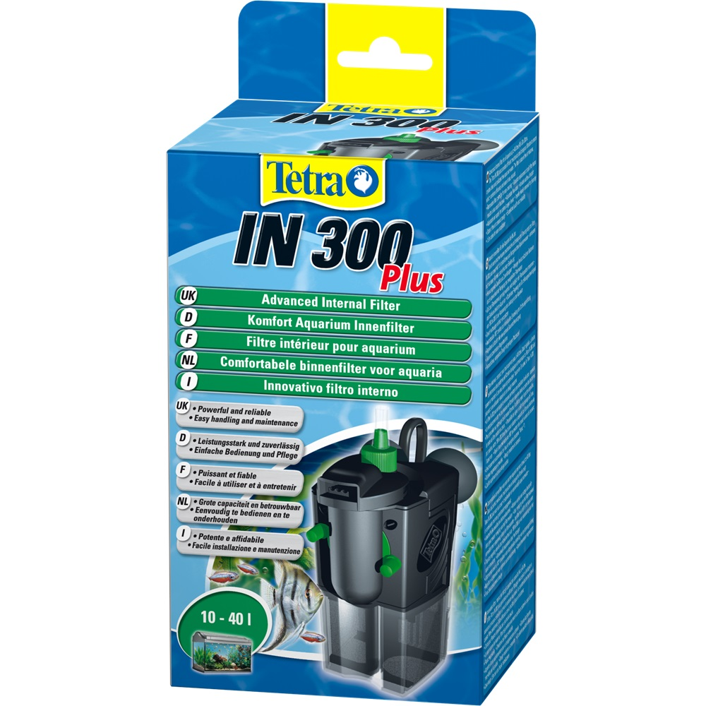 Internal filter for aquariums Tetra IN 300 Plus for aquariums up to 40 liters natural reef aquariums