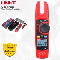 UNI T UT256B 200A True RMS Fork Meter; AC/DC Ammeter, Resistance/Capacitance/NCV/Diode Test, LCD Backlight