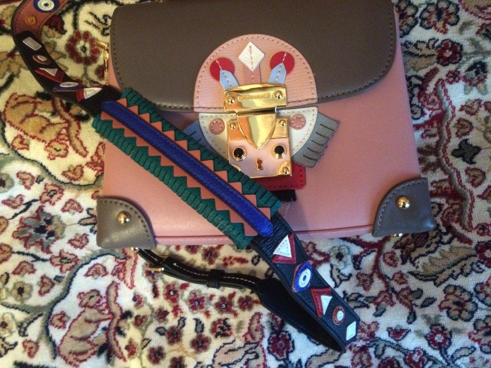 EMINI HOUSE Indian Style Shoulder Strap Original Split Leather Women Bag Strap Adjustable Belt Length 114-123cm Width 4cm photo review