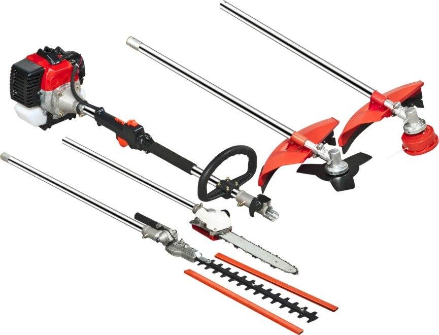 9 в 1 мульти кусторез whipper snipper длинная цепная пила хедж триммер с 2 шт. расширение полюса в качестве бонуса - 2