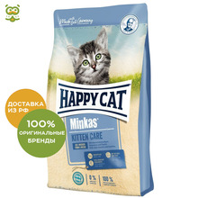 Happy Cat Minkas Kitten корм для котят, Птица, 1,5 кг.