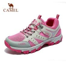 CAMEL femmes hommes chaussures de randonnée en plein air respirant maille Durable antidérapant voyage randonnée Trekking chaussures de randonnée