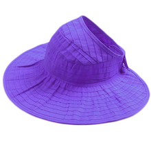 Lady can fold the summer semi-circular roof anti-ultraviolet trough sun hat  chapeau a3458fd91d78