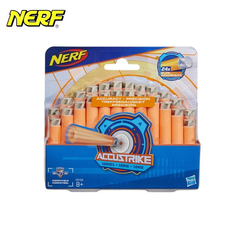 цены myT Toy Guns for boys Hasbro NERF Arrows 24x Accustrike Series C0163
