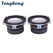 Tenghong 2 pièces 2 Pouces Haut parleurs Dordinateur 52 MM 4Ohm 3 W Gamme Complète Portable haut parleur Unité Aigus Mediant Basses Haut Parleur bricolage