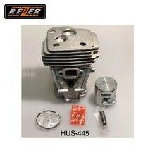 Цилиндр с поршнем HUS-445 Rezer для бензопилы