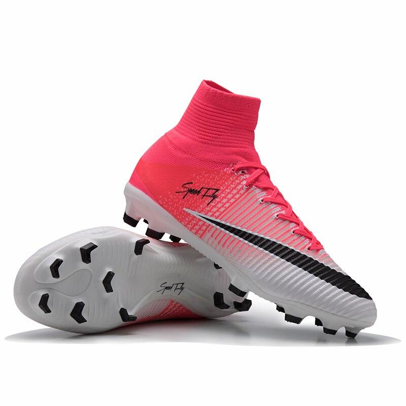 Zapatos de fútbol sufei para hombre zapatos de fútbol clásicos originales botas  deportivas FG niños alto tobillo al aire libre talla al por mayor 35-46 923bb6f3f4f4a