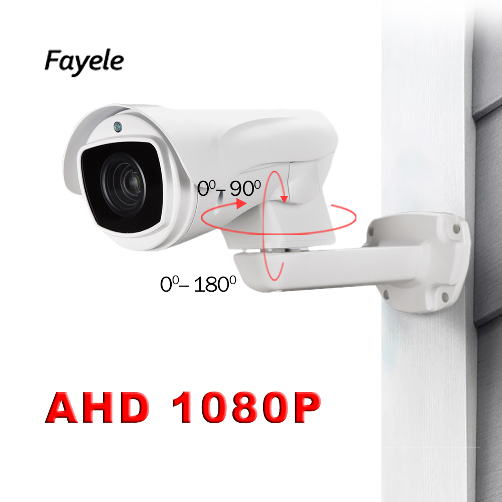 CCTV Security PTZ Camera AHD 1080P CVI TVI CVBS 4IN1 2mp Pan Tilt Zoom Bullet Camera 10X Optical Zoom IP66 Waterproof IR 80M cctv indoor 1080p 2 5 mini dome ptz camera sony imx323 ahd tvi cvi cvbs 4in1 2mp pan tilt 4x zoom day night ir 40m osd menu