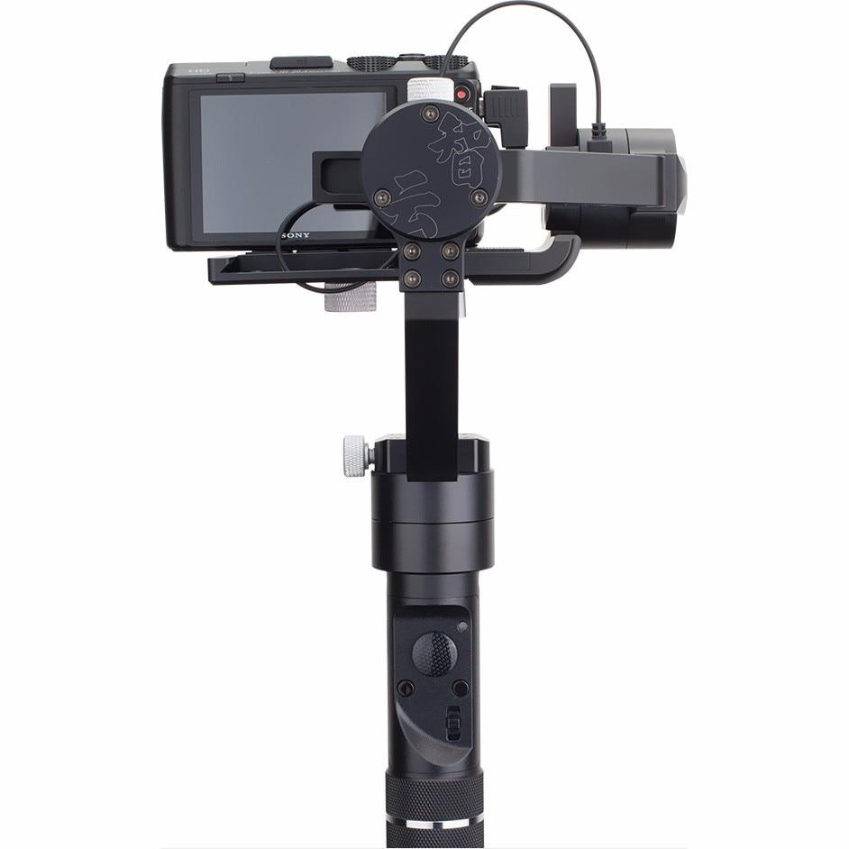 Zhiyun Crane M Handheld 3-Axis Gimbal Stabilizer Action Camera Selfie Stick yuneec q500 typhoon quadcopter handheld cgo steadygrip gimbal black