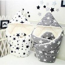 все цены на mylb 90 * 90cm Cotton Bebe Infant Swaddle Baby Baby Stroller Sleeping Bag for Baby Sleepsack Envelope Wrap Stroller for Newborn