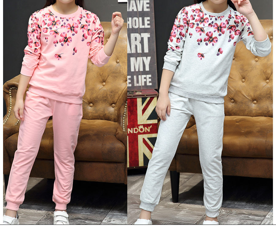 5de176d3559 2019 A15 Girls Clothes Suit Teenage Girls Clothing 2018 Spring ...