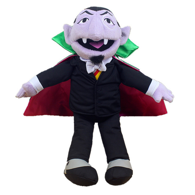 Us 13 19 9 Off Sesame Street The Count Von Count Plush Toy Elmo Earl Of Vampire Stuffed Toys Birthday Presents For Children Christmas Dolls In