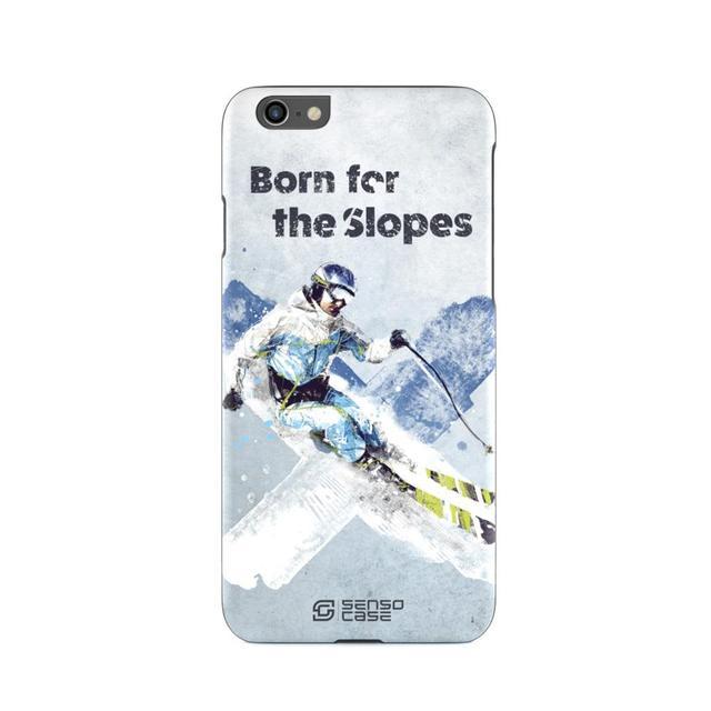 Защитный чехол SensoCase ski sport для Apple iPhone