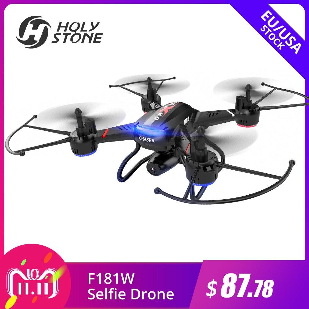 [UE USA Stock] Saint Pierre F181W Wifi FPV Drone 720 p Large-Angle HD Caméra Vidéo En Direct RC Quadcopter Maintien D'altitude Gravité Capteur