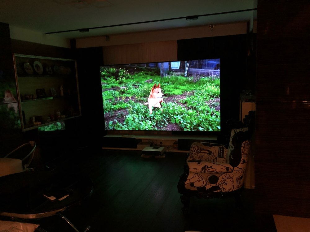 "Original Xiaomi Mijia Laser Projection TV 150"" Inches 1080 Full HD 4K Bluetooth 4.0 Wifi 2.4/5GHz English Interface DOLBY DTS 3D"