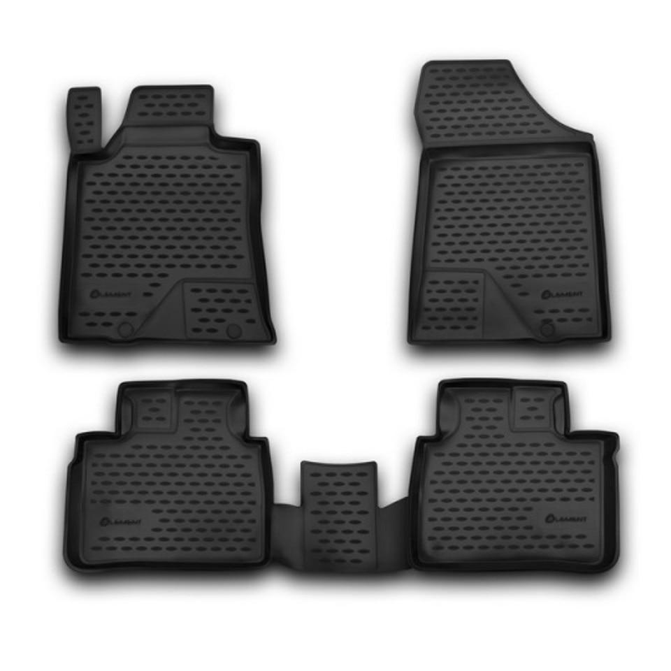 For Nissan Teana J33 2014-2019 floor mats into saloon 4 pcs/set Element CARNIS00042 for haval h6 fwd 2014 2019 3d floor mats into saloon 4 pcs set element element3d9922210k