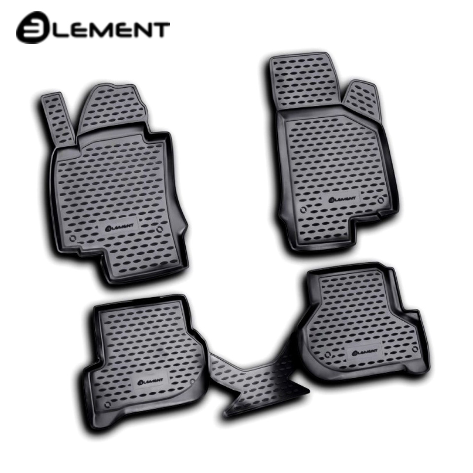 For Skoda Octavia A5 2008-2012 floor mats into saloon 4 pcs/set Element NLC4503210K fast shipping 2pcs set led marker angel eyes kit for bmw e90 saloon e91 touring no canbus error