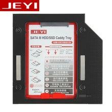 Jeyi H95/H27 Тетрадь оптический привод немного жесткий диск лоток SSD HDD жесткий диск кронштейн Алюминий SATA Мощность защиты для CD и DVD Встроенная память