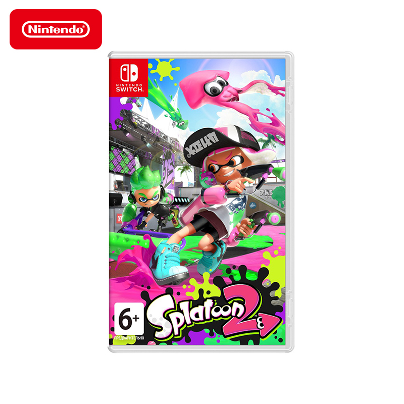 Game Deals Nintendo Switch Splatoon 2 цена