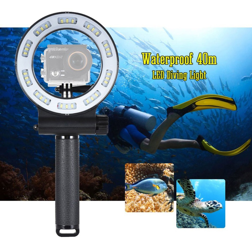 SL 109 30 LED Camera Video Light Waterproof 40m Diving Fill Light 3 Modes for GoPro Hero for Yi 4K SJCAM Action Sports Camera La