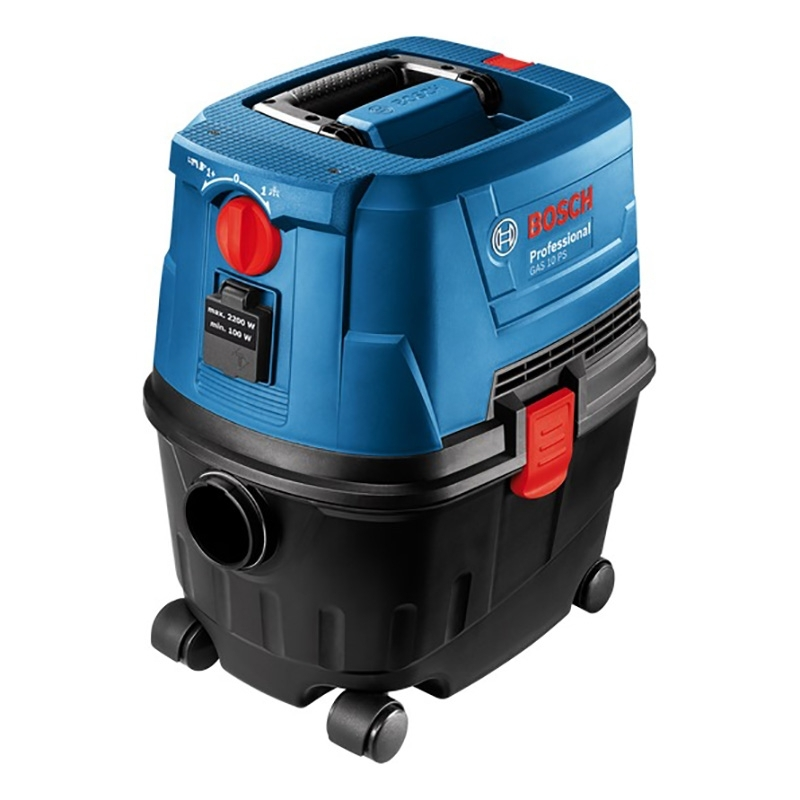 Vacuum cleaner wet and dry Bosch GAS 15 PS (Power 1100 W, volume dust collector 10L) vacuum cleaner for dry and wet cleaning bosch gas 25