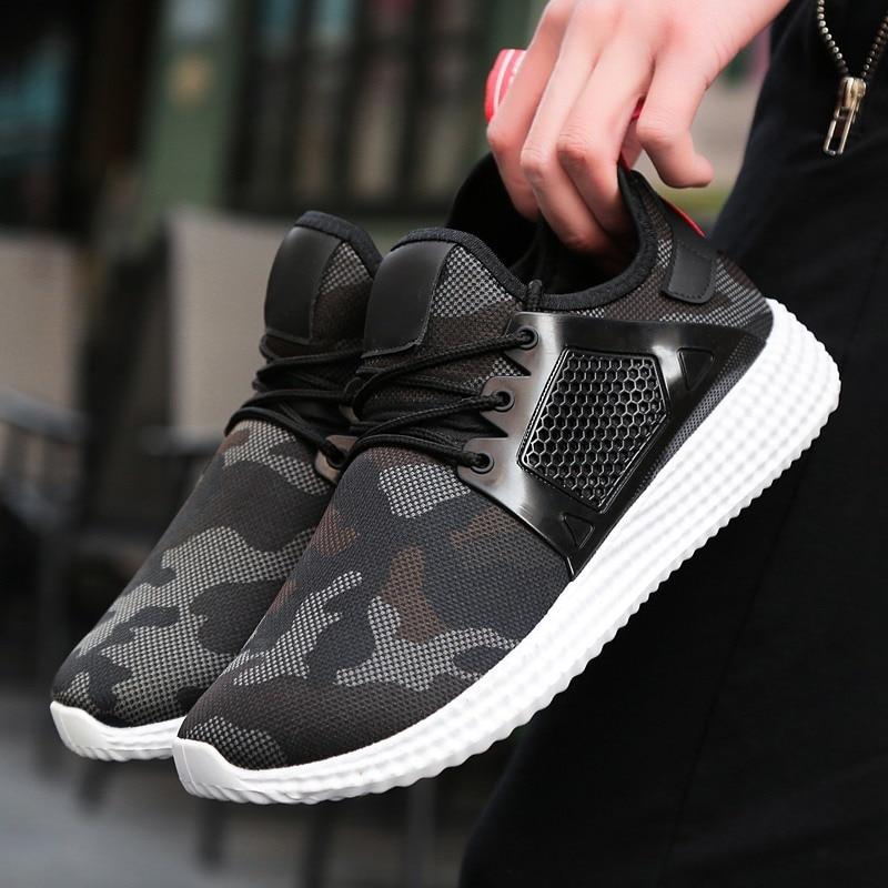 Casual Plein Marche Noir Respirantes Chaussures En Hommes 2018 Coréenne Nouveau De Air Décontractées vert qzx4nEPwA
