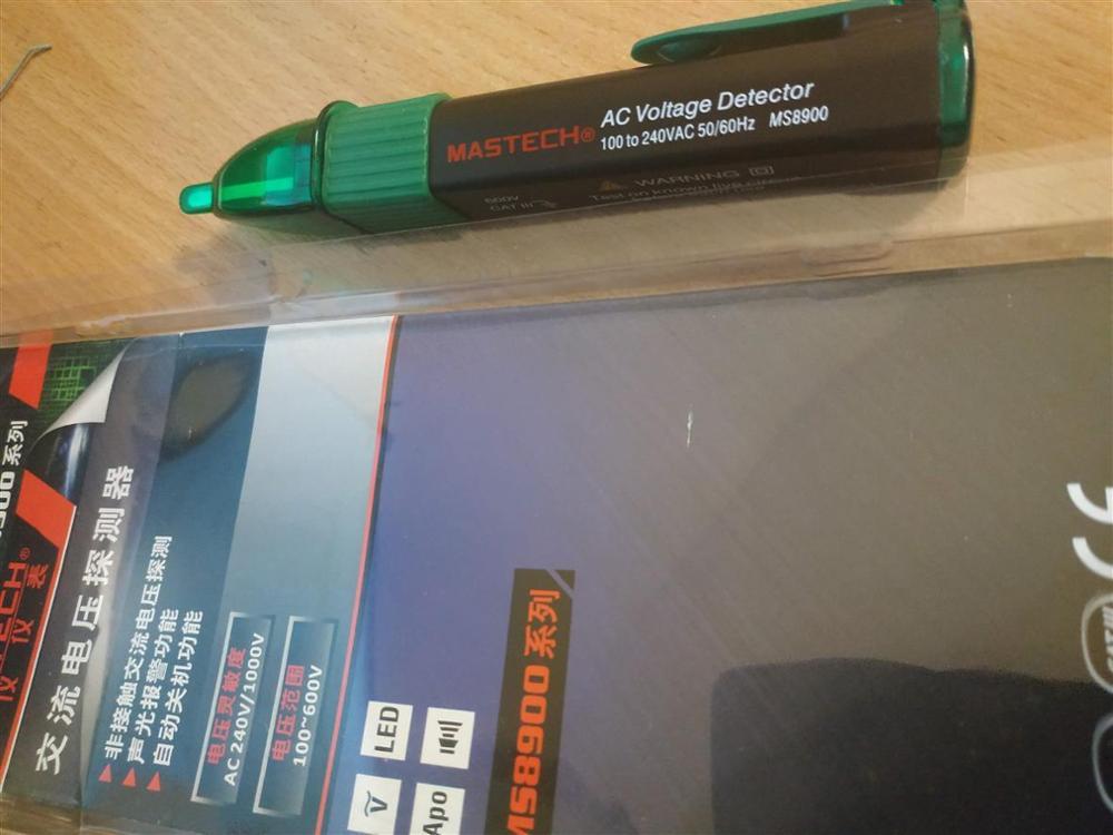 Medidores de tensão mastech ms8900 voltage