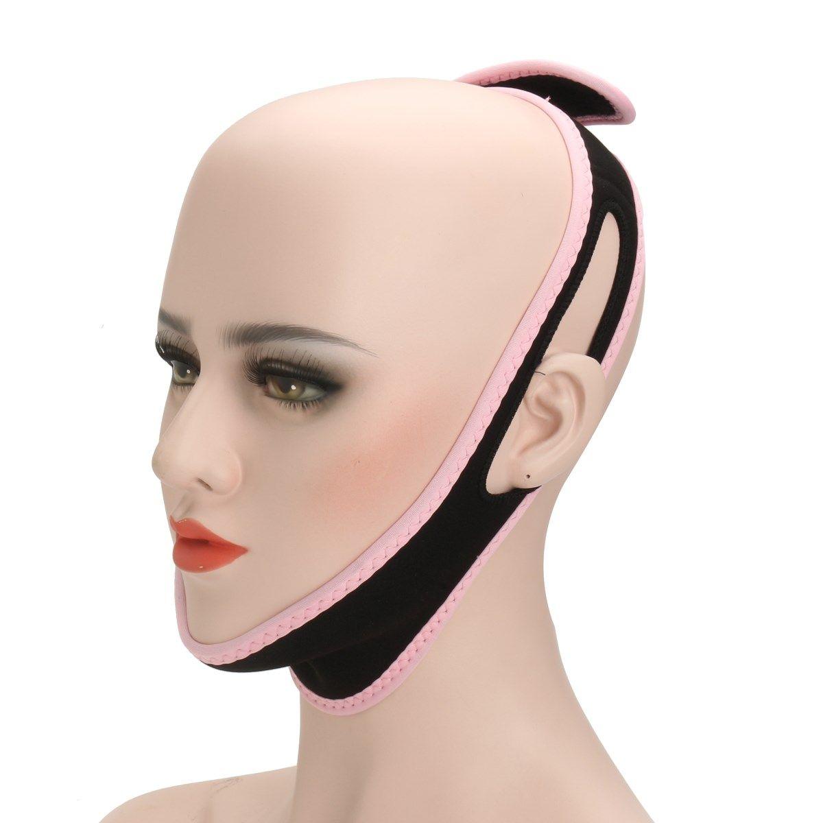 V Line Wajah Ultra Tipis Anti Aging Kerut Pipi Chin Facial Masker New Look Face Beauty Lift Up Belt Pink Peramping Pro 1 Pcs Tidur Pembentuk Slimming Perban