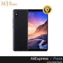 Глобальная версия, Xiaomi Mi Max 3 4 Гб + 64 ГБ, черный, Google Play и кастильский установлен, экран 6,9 », 5500 мАч батарея.