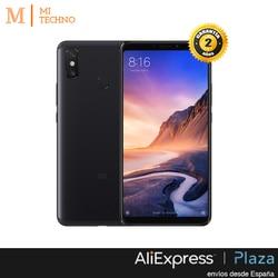 Global Version, Xiaomi Mi Max 3 4 GB + 64 GB, Black, Google Play and Castilian installed, the Screen 6,9 '', 5500 mAh battery.