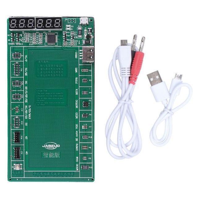 Appareil dessai de carte dactivation de charge rapide de batterie pour liphone X XS MAX XR 4 5 6 6s 7 8 pour le téléphone Android de Samsung xiaomi Huawei