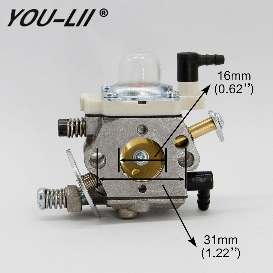 YOULII New Carburetor For Walbro WT998 WT813 For 26CC-30CC Engine Rc Boat airplane BAJA 5B 5T Chainsaw image