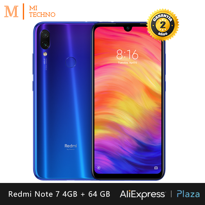 Global Version Xiaomi Redmi Note 7 smartphone HD 6 3 RAM 4GB ROM 64GB battery