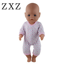 font b Doll b font Jump Suits Fit For 43cm Baby Born Zapf font b